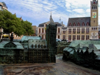 Belfry and historical town hall of Roeselare