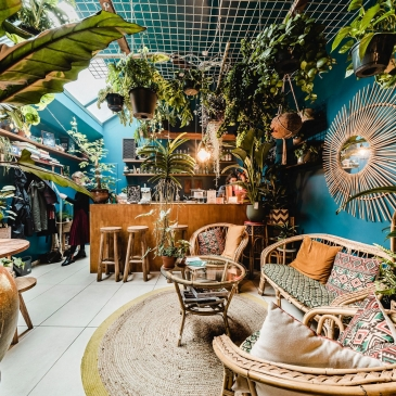 Broesse Gent planten winkel bar jungle