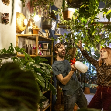 Broesse Gent bar planten winkel jungle